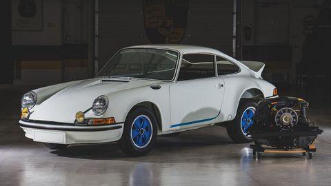 Land vehicle, Vehicle, Car, Porsche 911 classic, Regularity rally, Porsche 912, Coupé, Bumper, Porsche 930, Sports car,