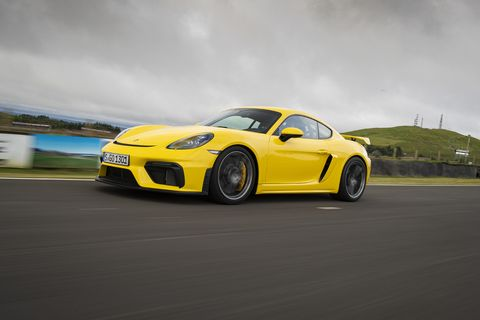 """Porsche says the 2020 718 Cayman GT4is """"the most powerful and exhilerating variant of the 718 yet."""""""