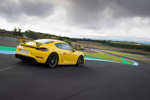 The new engine makes 414 hp -- 29 more than the previous GT4.
