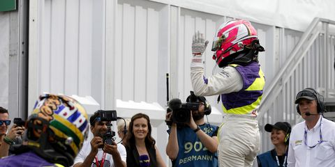 Sights from the W Series action at the Norisring in Germany July 6, 2019