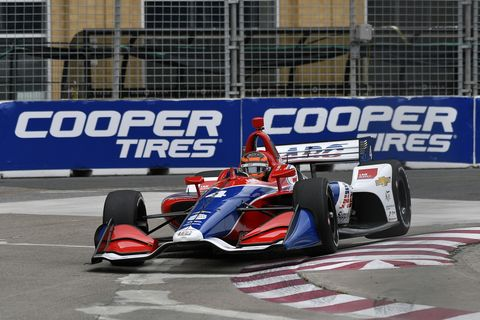 Sights from the IndyCar series Honda Indy Toronto on the streets of Exhibition Place,  Friday July 12, 2019