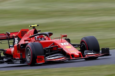 Sights from the F1 action at Silverstone, Saturday July 13, 2019.