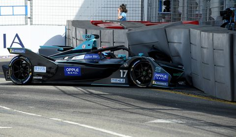 Sights from the Formula E New York City E-Prix, Sunday, July 14, 2019