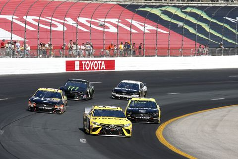 Sights from the NASCAR action at New Hampshire Motor Speedway, Sunday July 21, 2019
