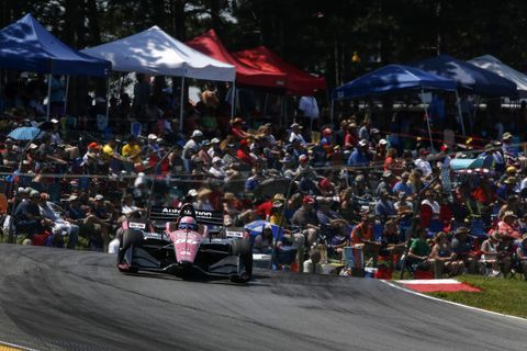 Sights from the action at the IndyCar Series Honda Indy 200 at Mid-Ohio, Sunday July 28, 2019