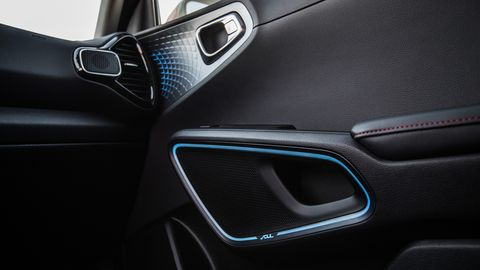 The 2020 Kia Soul gets an interior as funky as the exterior.