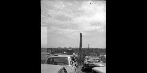Naturally, I had to document these stylish classic Italian cars with a stylish classic Italian film camera.