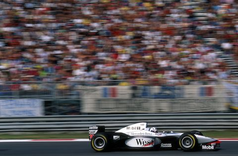After a brief stint with Sabuer, Mercedes supplied engines to Mclaren starting in 1995, Brawn GP in 2009, and started its own factory effort in 2010. The 2010-2012 line-up was Nico Rosberg and Michael Schumacher. Lewis Hamilton joined in 2013. Valteri Bottas joined in 2017.
