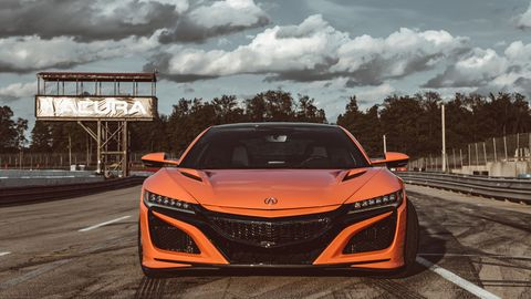 The 2019 Acura NSX got a few upgrades with the refresh, but output stays at 573 hp and 476 lb-ft of torque.