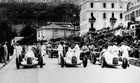 Mercedes raced and won in Grand Prix Motor Racing, the precursor to Formula 1 between 1934 and 1939. The team enjoyed much success with the W 25, W 125, and W 154 racing cars