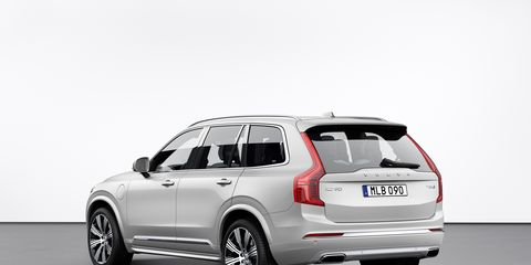 The Volvo XC90 tops the list because the T8 version is a plug-in hybrid, with a 58 MPGe rating for its 17-mile electric-only range. When it's running in gas-electric hybrid mode, the EPA combined rating is a more average 25 mpg. The XC90 T8 is expensive, starting at $68,640 and running into the $100,000 range for the fancier versions. For the price, though, you get 400 combined horsepower and one of the most beautiful interiors in the industry.
