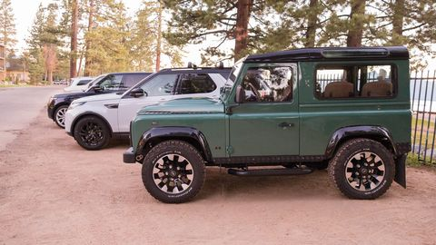 """The """"Wessex"""" Arkonik Defender comes with diesel engine. Good for off road, not as good on the highway."""
