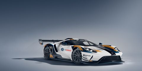 A look at the new Ford GT Mk II in the studio