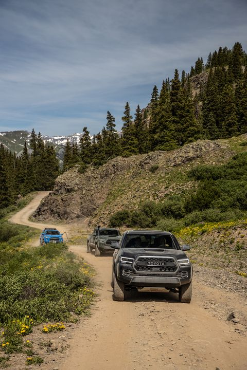 Toyota Trucks top Colorado mountains. We take part in the 13th annual FJ Summit and drive 4Runners and Tacomas over (some of) the highest peaks in Colorado