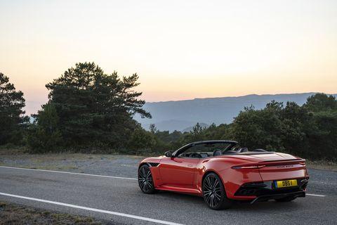 2019 Aston Martin DBS Superleggera Volanteis an open top visual stunner