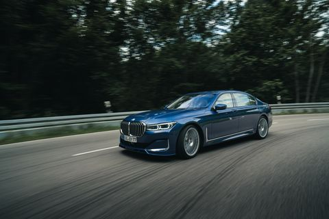 Alpina Sport+ chassis settings lower vehicle 0.6 inches