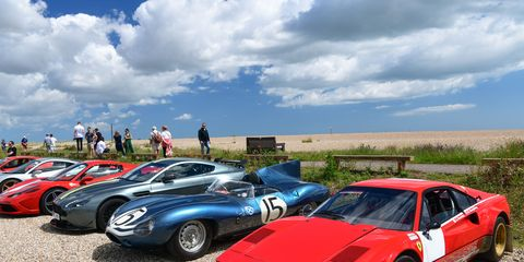 Heveningham Concours60 cars, 10 airplanes and ferret races!