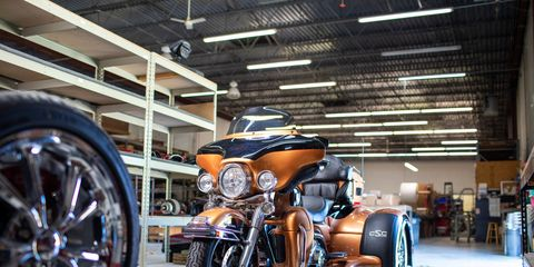 California Sidecars, located in Arrington, Virginia, employs 85 workers and helps keep cyclists in the game, even after their days on two-wheelers are in the rear-view mirror.