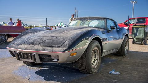 This 1978 Corvette had just 4 miles on the clock when it sold at the Lambrecht Chevrolet auction in 2013.