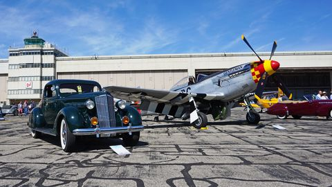Here's what you missed at the second annual Wings and Wheels at Willow Run, which brought roughly 100 classic cars and almost 40 vintage aircraft to the historic airport in Ypsilanti, Michigan. Proceeds from the event went to support the Yankee Air Museum.