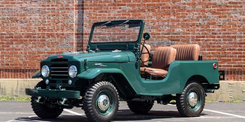 Bonhams will have an open FJ25 as well as a later hardtop variant on offer in Monterey.