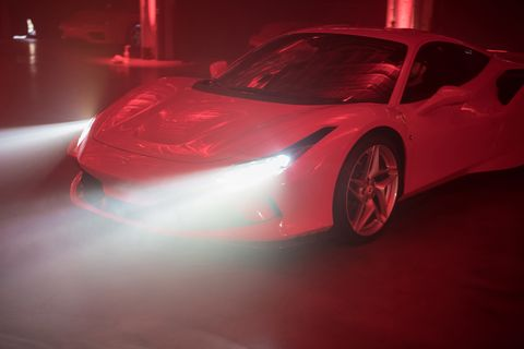 The North American reveal of the Ferrari F8 Tributooccurred in LA and included the requisite pomp and circumstance