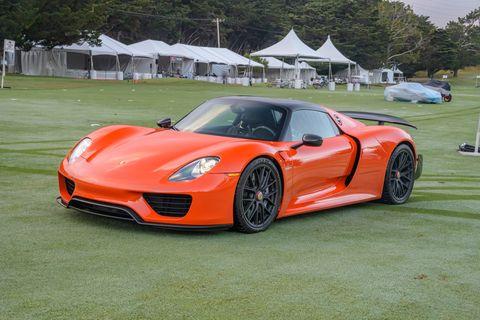 Bruce Canepa's orange 918