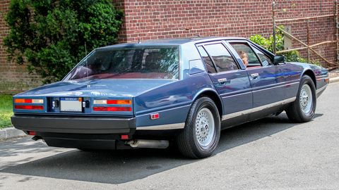 This example hails from 1984 and is one of just over 600 sedans produced in over a decade.