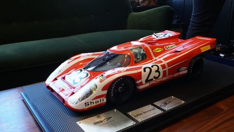 Patrick Strong's 917