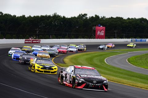 Sights from the NASCAR action at Pocono Raceway, Sunday July 28, 2019