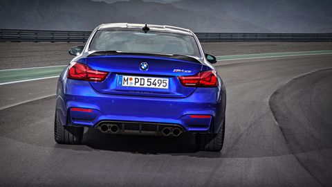 The 2019 BMW M4 CS is the second-most aggressive M4 next to the GTS.