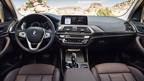 The 2019 BMW X3 M40i comes with leather, navigation, a sunroof and more.