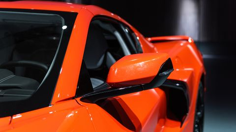 There's a lot going on with the new Corvette, but here's a chance to slow down and take in some of its finer points.