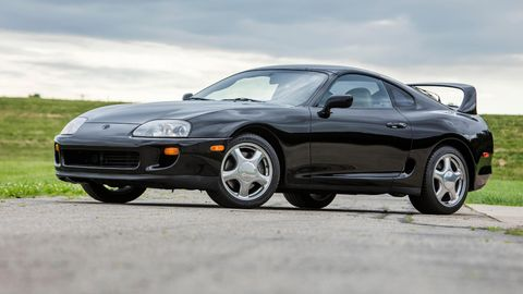 With low miles and an automatic, this Twin Turbo Supra is a rare bird from the early '90s.