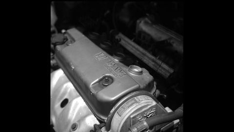 The camera is 50 years newer than this Honda D engine.