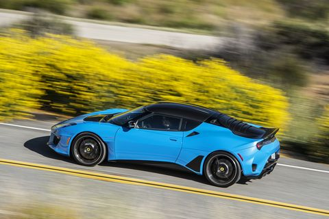 The new 2020 Lotus Evora GT is lighter, stronger and faster