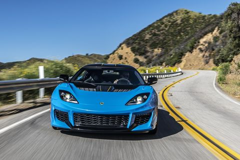 The newLotus Evora GT is optimized for downforce