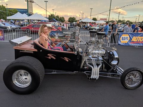 T Bucket Roadsters ruled teh road in about 1963 or so