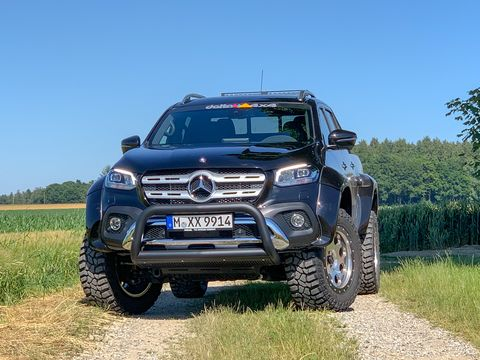 Located near Munich, Delta 4x4 -- led by off-road veteran Josef Loder and his son Maximilian -- are creating clean, capable off-road builds. Their take on the Mercedes-Benz X-Class pickup shows off their signature style.