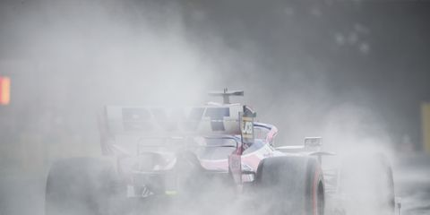 Sights from the F1 action at the Hungaroring, Hungary, Saturday August 3, 2019