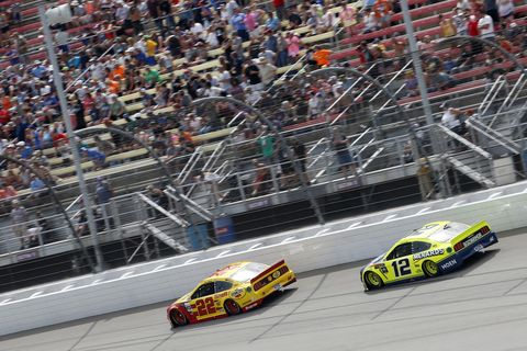 Sights from the NASCAR action at Michigan International Speedway, Sunday July 11, 2019
