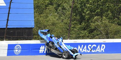 Sights from the IndyCar Series action at Pocono Raceway Sunday August 18, 2019