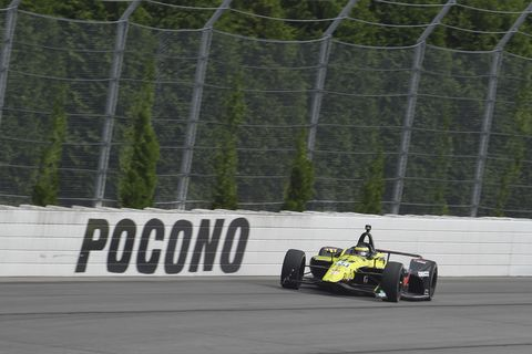 Sights from the IndyCar Series action at Pocono Raceway Saturday August 17, 2019