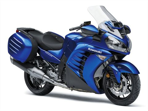 TheKawasaki Concours 14 ABS was introduced in 2007 and soldiers on in much the same form today.