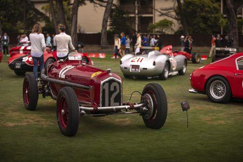 1934 Scuderia Ferrari Alfa Romeo