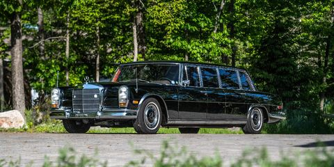 This 1970 Mercedes-Benz 600 Pullman will be offered by Bonhams at Quail Lodge.