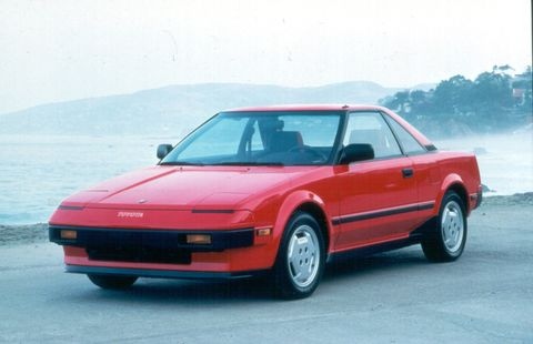 The first-generation Toyota MR2 ran from 1984-1989.