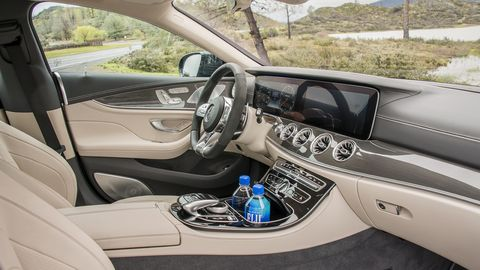 2019 Mercedes-AMG CLS53 is as plush inside as you would expect, but with a sportier edge to it.