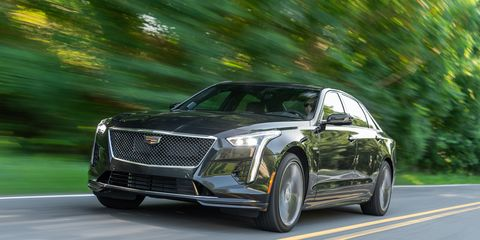 the 2020 cadillac ct6 v comes with the company's new blackwing engine delivering 550 hp