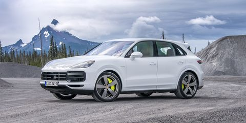 The Porsche Cayenne Turbo S E-Hybrid exterior will go on sale in the first quarter of 2020.